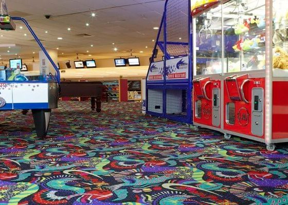 موکت تایل برای مراکز تفریحی و باشگاه های خصوصی